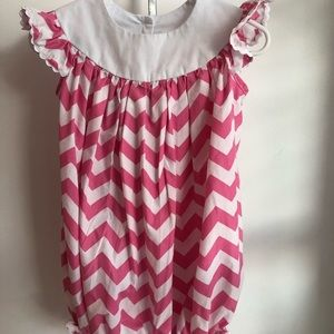 Smocked Jumper/Romper